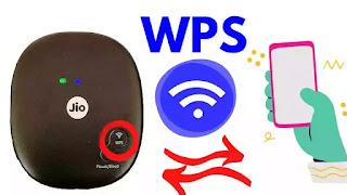 What is WPS in Jiofi